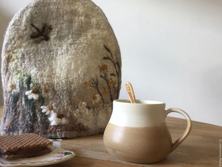 """Купить Набор - """"Мой дом""""!- Грелка на чайник- салфетница, прихватки - грелка на чайник, грелка на чашку"""