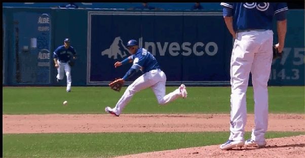 Jays win and take over first place in the AL East