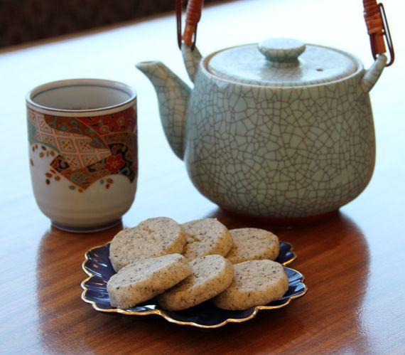 Earl Grey Tea Cookies | Noms | Pinterest