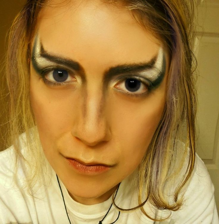 Jareth the Goblin King Makeup by BrynjaG on deviantART