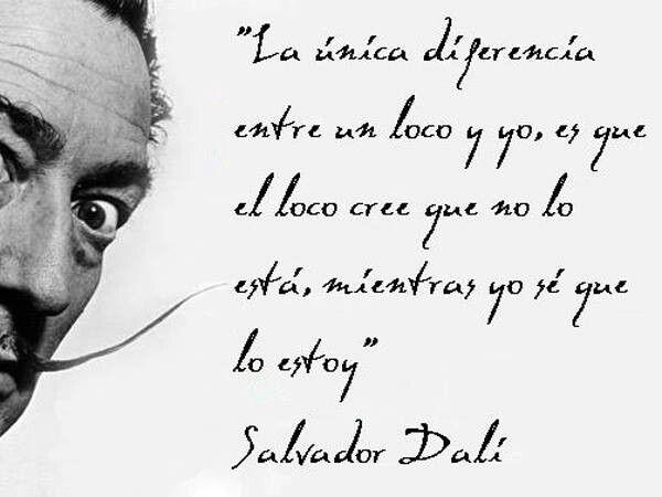 Te entiendo Salvador Dali