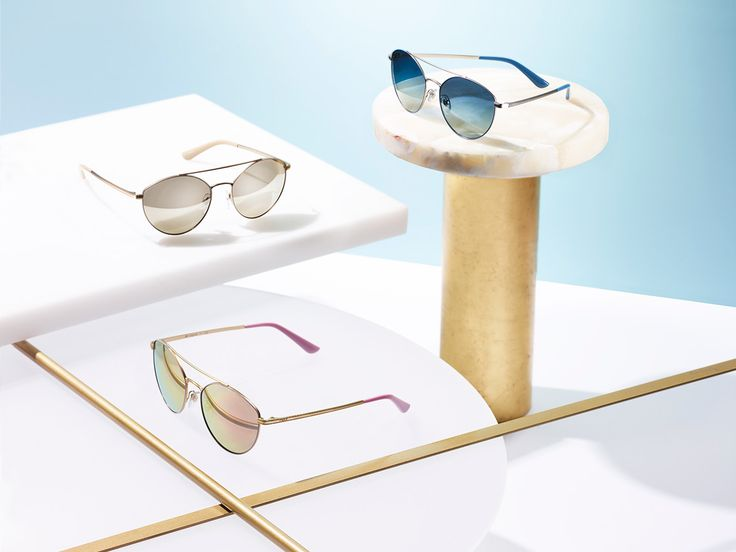 Soft colors. Hard choices. Introducing the new Light and Shine collection from Vogue Eyewear.