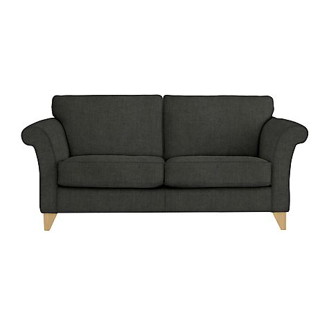 Buy John Lewis Charlotte Grand Sofa Online at johnlewis.com  This was the sofa for sale in the grey chequered fabric at the JL Outlet.