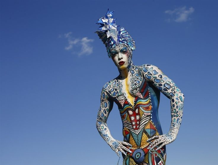 Body Art, 15th Annual World Bodypainting Festival, Austria, July 2012, Photos by Alexander Klein / AFP - Getty Images