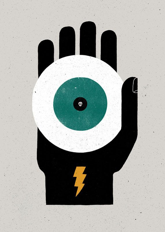 'Jettatura: The casting of an evil eye' by James and Michael Fitzgerald aka The Project Twins