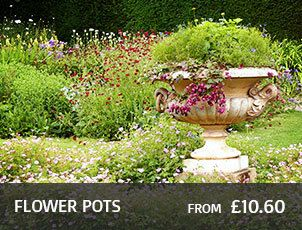 Stone Flower Pots, Urns And Vases Garden Ornaments By Onefold