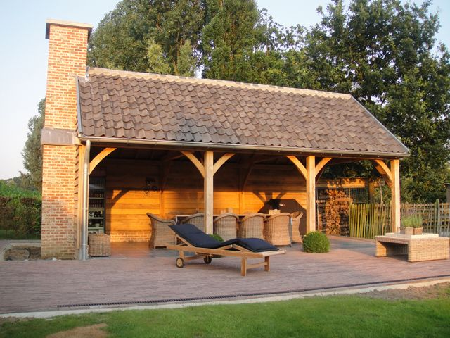 Prime Oak Buildings | Eiken bijgebouwen | Overdekte terrassen