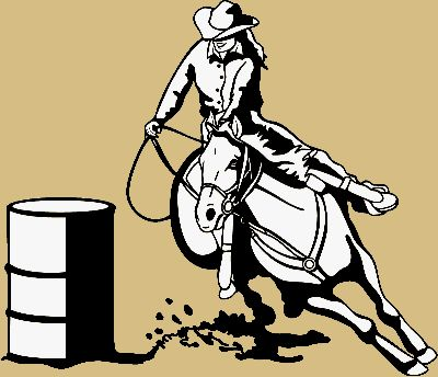 Clip Art Barrel Racing Clip Art 1000 images about barrel racing on pinterest vinyls shops and racer clip art free graphics pictures for myspace