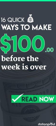 Make Money Fast | Earn Extra Money | Side Hustle Ideas | How to Make $100 | Make Extra Money