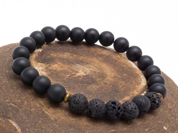 Mens Armbands – Bracelet Men 015 – a unique product by Blackif on DaWanda