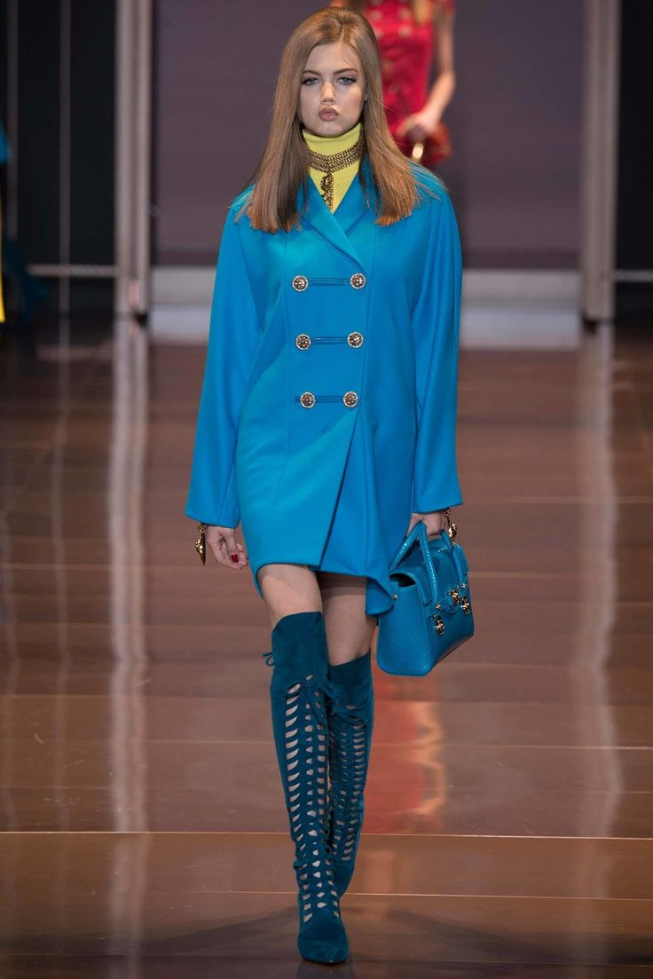 new york chrome hearts Versace Fall 2014 Ready to Wear Collection Photos   Vogue