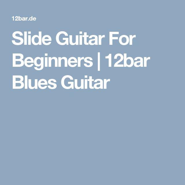 Slide Guitar For Beginners | 12bar Blues Guitar