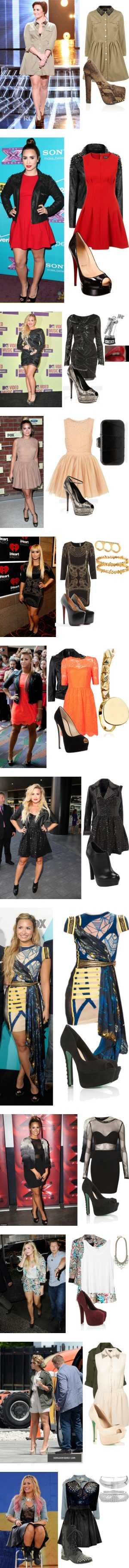 """""""Demi Lovato♥ Style:)"""" by beliebersforeverrss ❤ liked on Polyvore"""