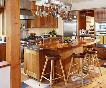 Double Duty Kitchen Island