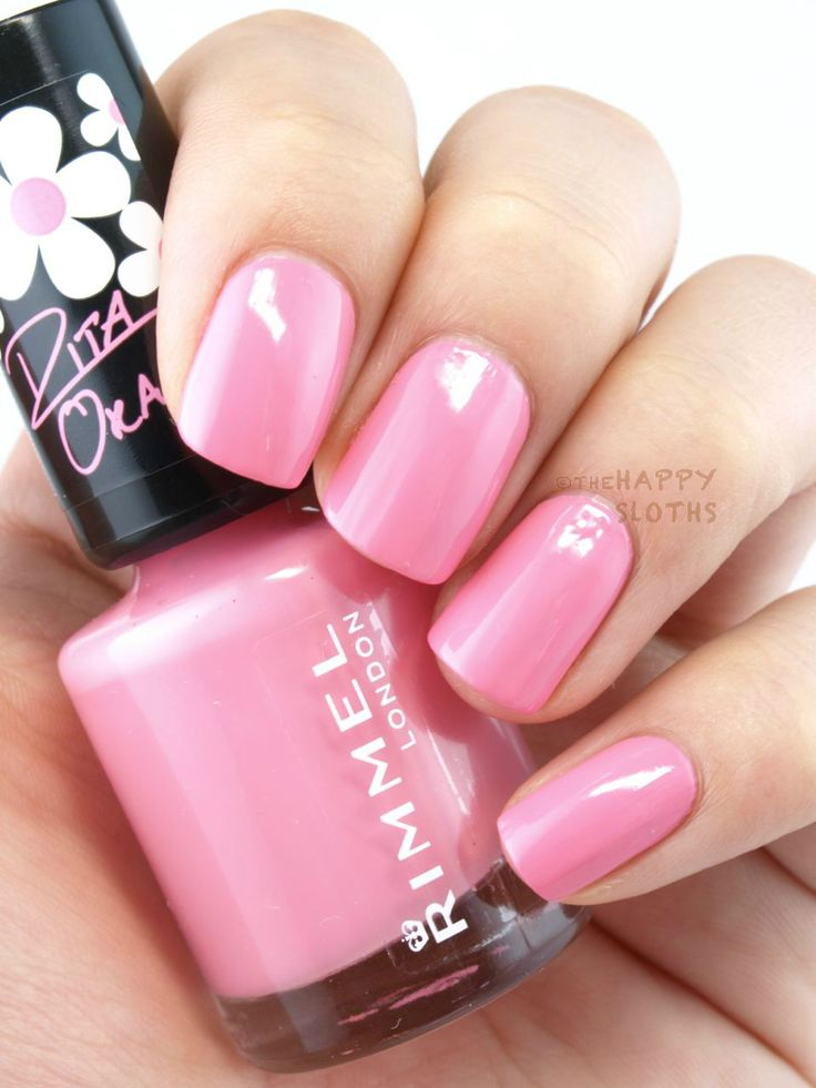 """The Happy Sloths: Rimmel London 60 Seconds Nail Polish by Rita Ora in """"270"""