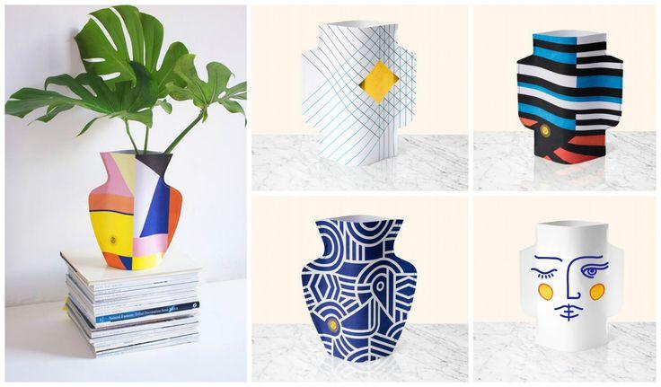 Le Paper Vase - Octaveo