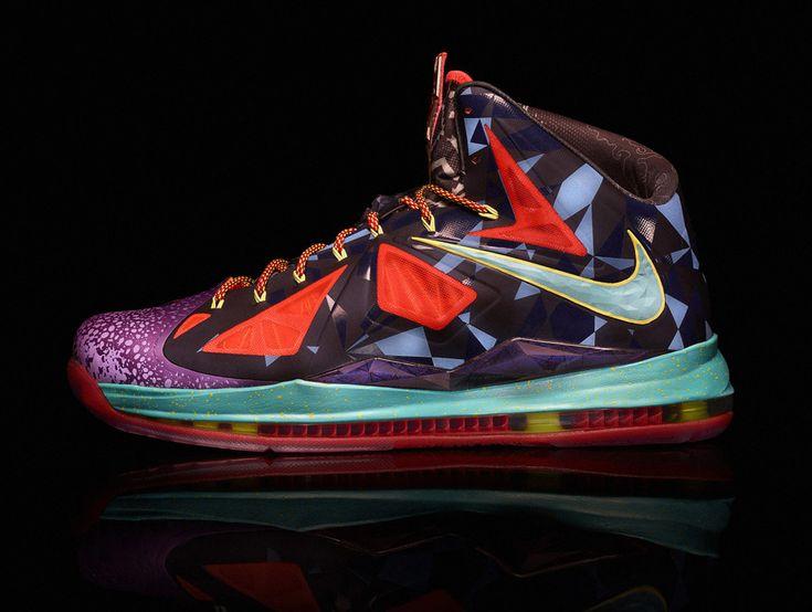 Nike LeBron X \u201cMVP\u201d. James ShoesShoe ...