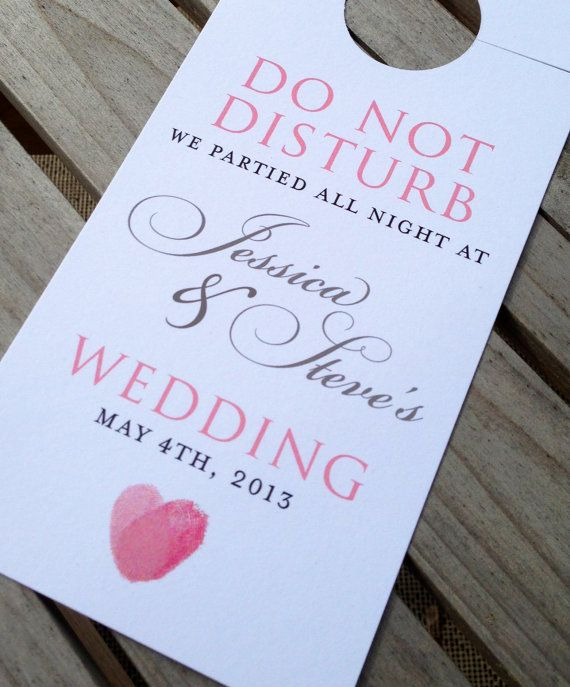 Best 25+ Wedding Door Hangers Ideas On Pinterest | Simple Bridal