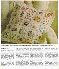 A inúmeros pedidos na fan page da Arteira Craft no Facebook resolvi postar o PAP da colcha de Patchwork com crochet.        Patchwork com C...