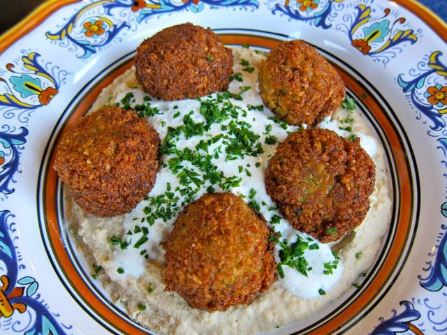Falafel - Traditional Recipe for Chickpea Falafel Best ones I have made yet! Great balance of spices.