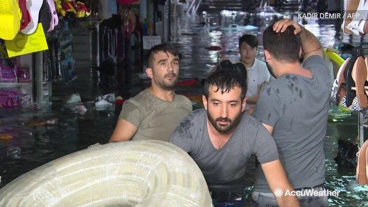 On Saturday, Aug. 17, torrential downpours assault…