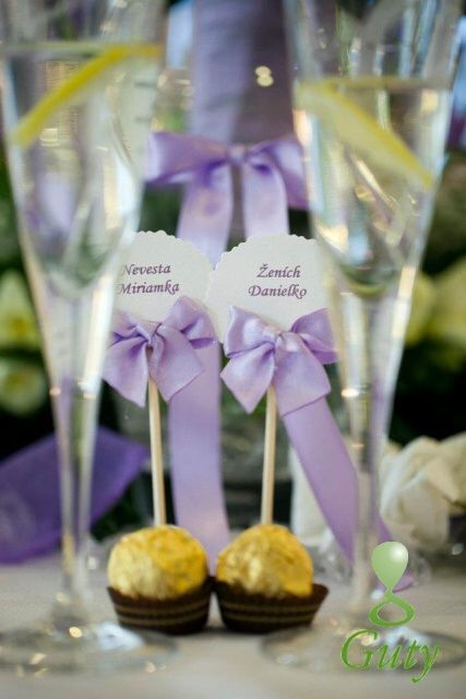 Svadobná dekorácia. Wedding decorations.