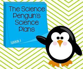 The Science Penguin: Science Penguin's Science Plans {Week 1}