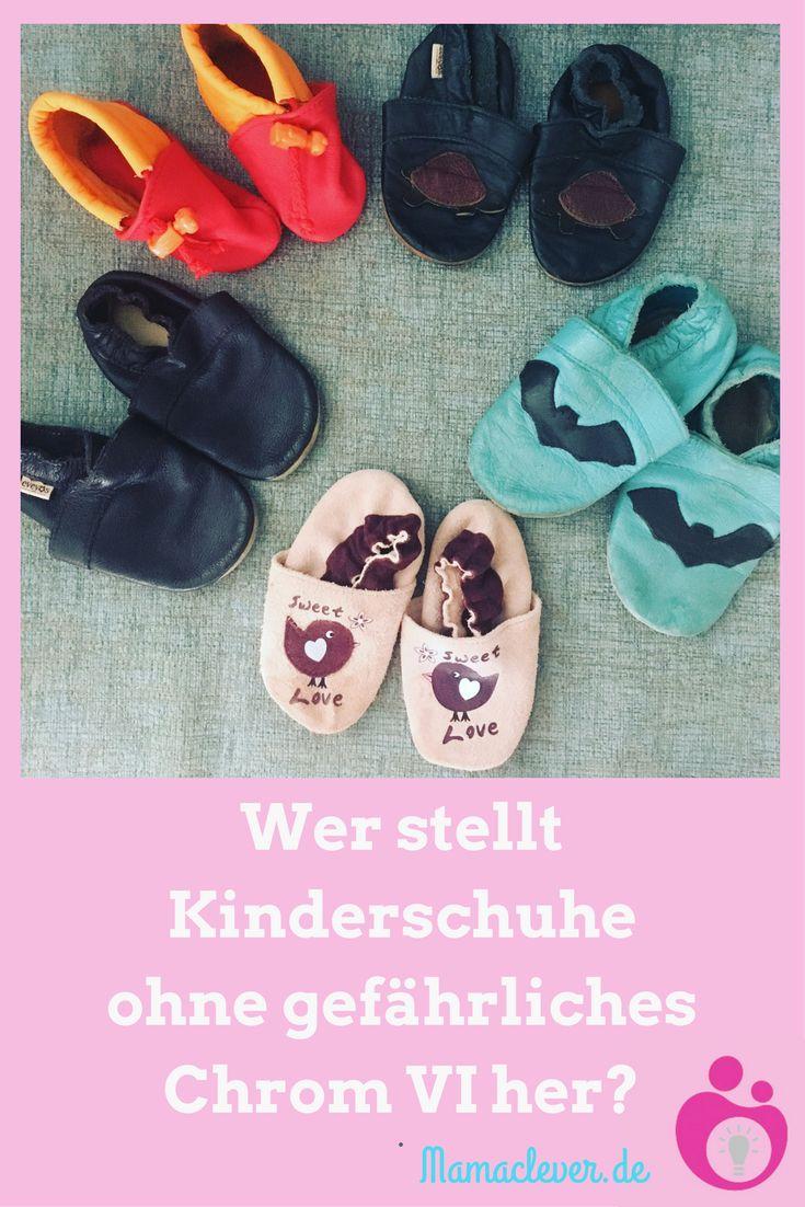 In letzter Zeit wurden wiederholt Krabbelschuhe für Babys und Kinderschuhe aus Leder zurückgerufen und aus den Regalen genommen, weil Chrom VI festgestellt wurde. Dieser Stoff gilt als krebserregend und kann Allergien verursachen. Ein Überblick über Hersteller von Baby- und Kinderschuhen, die pflanzlich gegerbtes Leder verwenden und deren Schuhe daher garantiert chromfrei sind. #Kinderschuhe #ökologisch
