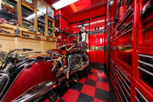Mancave Motorcycle Man Cave Ideas Design Image 00001
