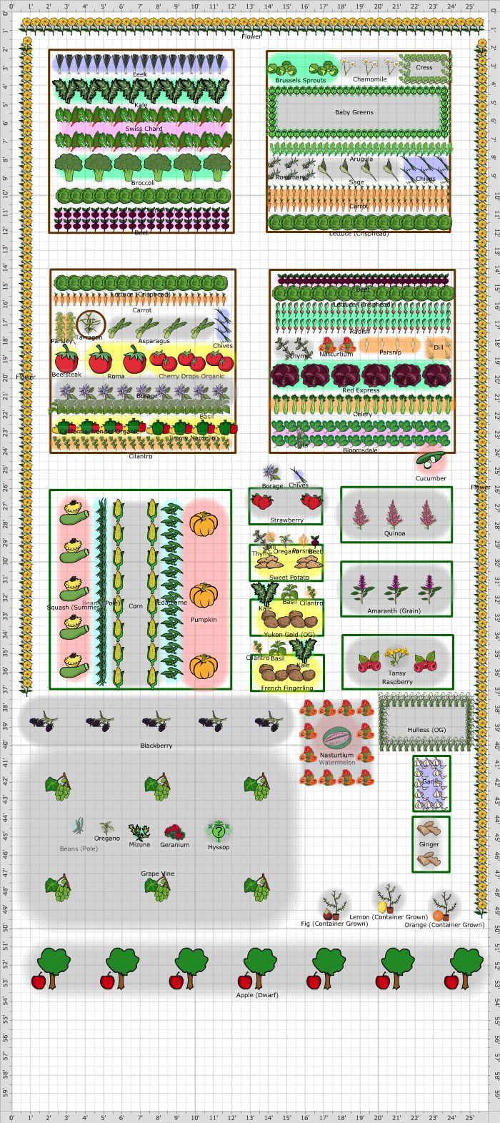 753 Best Vegetable Garden Plans Images On Pinterest 400 x 300