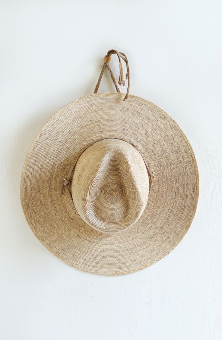 Vintage Mexican straw hat from Everything Golden