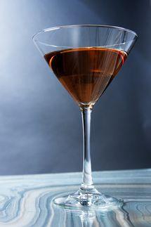 Corpse Reviver #1 - brandy, apple, vermouth