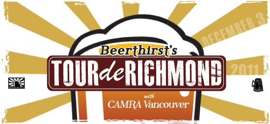 Beerthirst's Tour de Richmond event promotional banner.