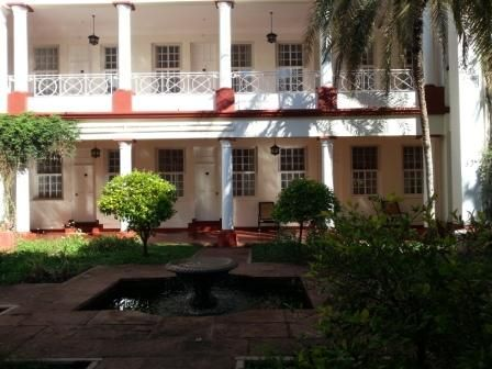 Victoria Falls Hotel-supported by European Council on Tourism and Trade
