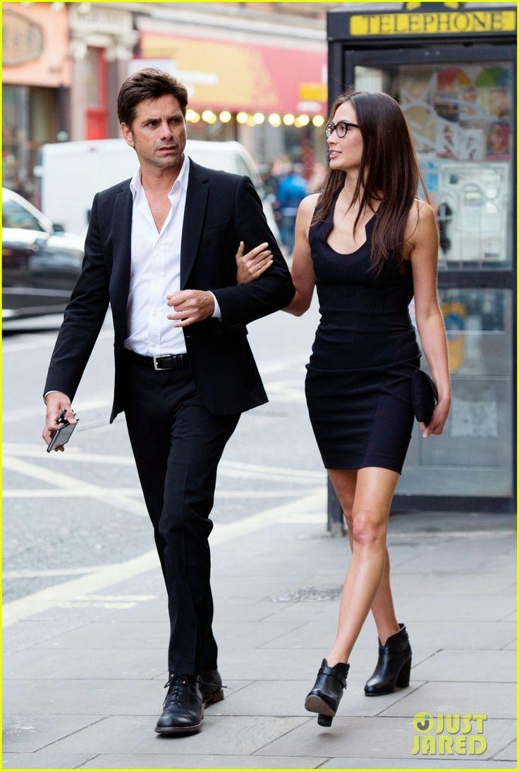 John Stamos & Girlfriend Caitlin McHugh Look So Happy for Date Night in London! | john stamos girlfriend date night london 21 - Photo