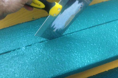 Restore Deck Paint Drywall Knife