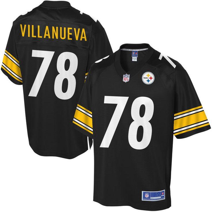 Youth Pittsburgh Steelers Alejandro Villanueva NFL Pro Line Team Color Jersey