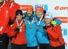 Biathlon medals MS 2013