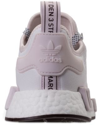 4db2bce2175fd adidas Women s Nmd R1 Casual Sneakers from Finish Line - White 9.5 ...