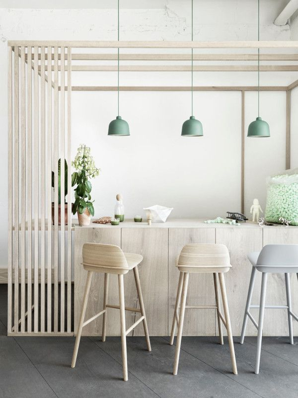 The GRAIN lamp, by designer Jens Fager