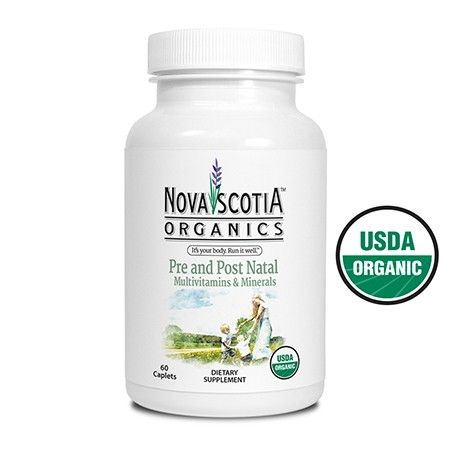 A rich and balanced daily Multivitamin and Minerals ever-so-carefully formulated for expectant women and the little ones they're carrying, and for women post-pregnancy. Made entirely from USDA Certified Organic ingredients in an easy to swallow caplet form.
