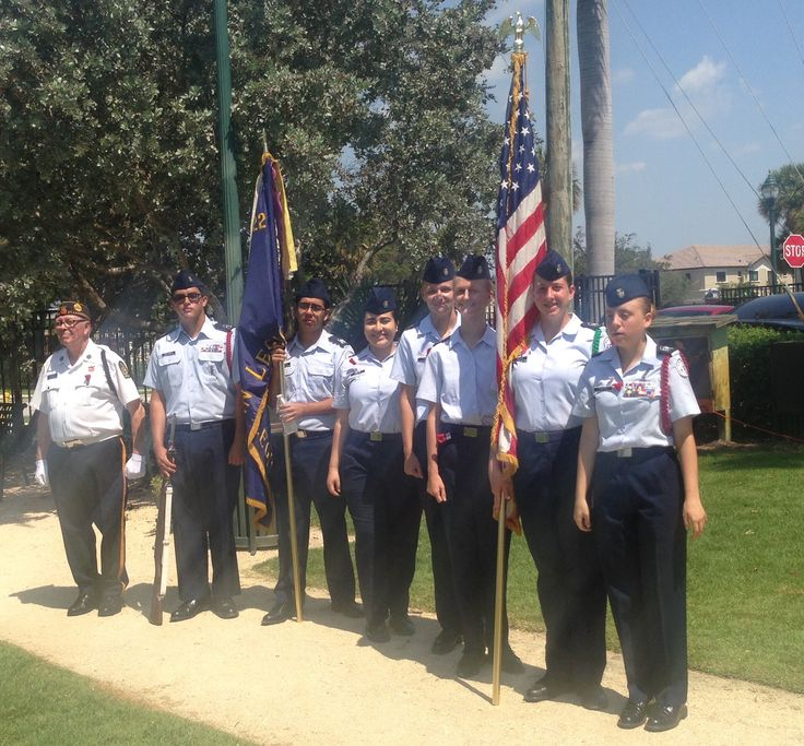 Swampy's #Florida live at #MemorialDay services recognizing our fallen heroes. This ceremony just finished here at Jaco Pastorius Park in Oakland Park, Florida.