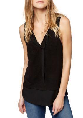 Sanctuary Women's Emma Shell Knit Top - Black - Xs