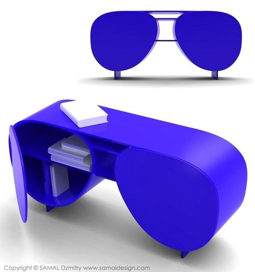eyeglasses bookcase