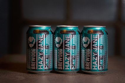 Brewdog has lined up a New England IPA called Hazy Jane. The beer, which is brewed with pale malt, oats and wheat, uses five different US hops.
