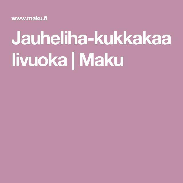Jauheliha-kukkakaalivuoka | Maku