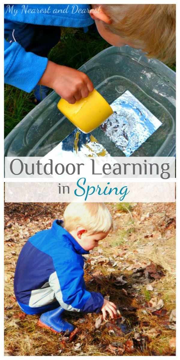 Outdoor Learning Ideas for Spring - My Nearest And Dearest