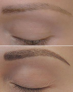 hair stroke permanent eyebrows - Google Search