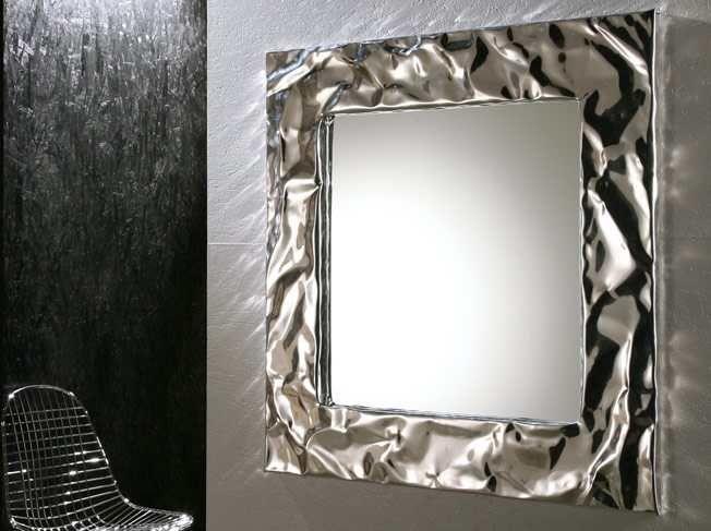 29 best aluminum foil diy images on pinterest aluminium for Miroir encadrement metal