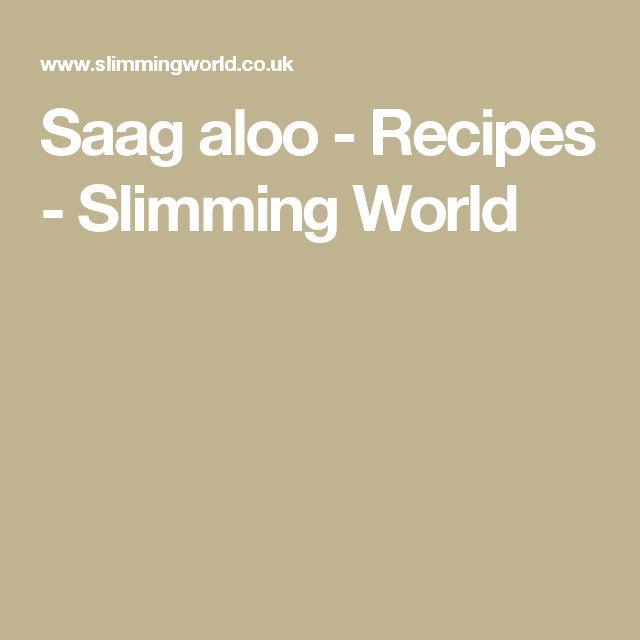 Saag aloo - Recipes - Slimming World